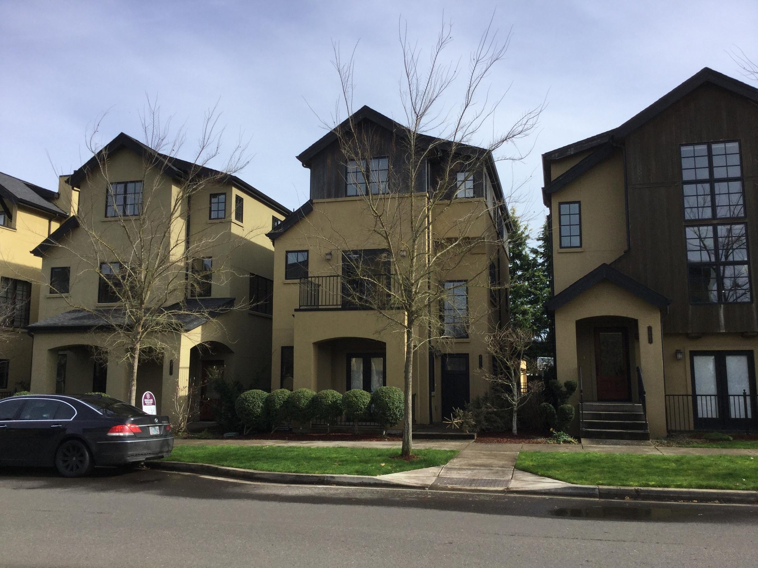 Narrow Houses in Eugene