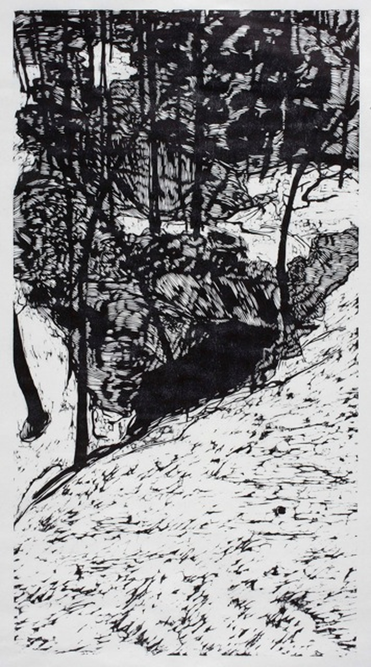 Antonia Aitken, woodcut