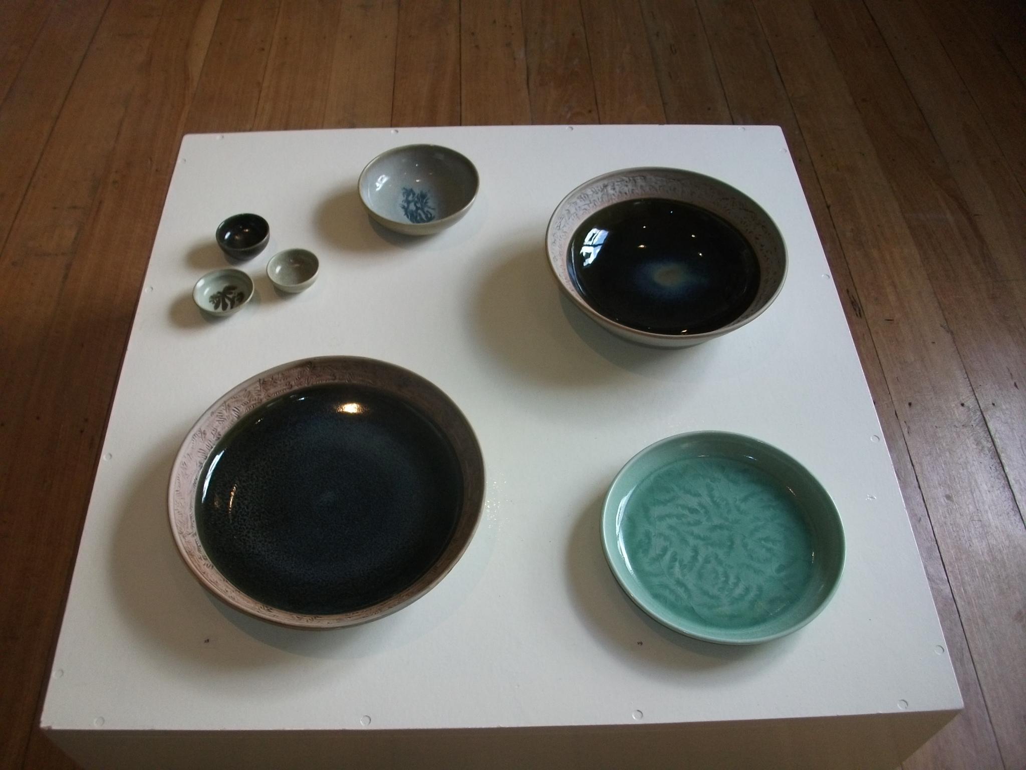 Various pots, Julian Davies