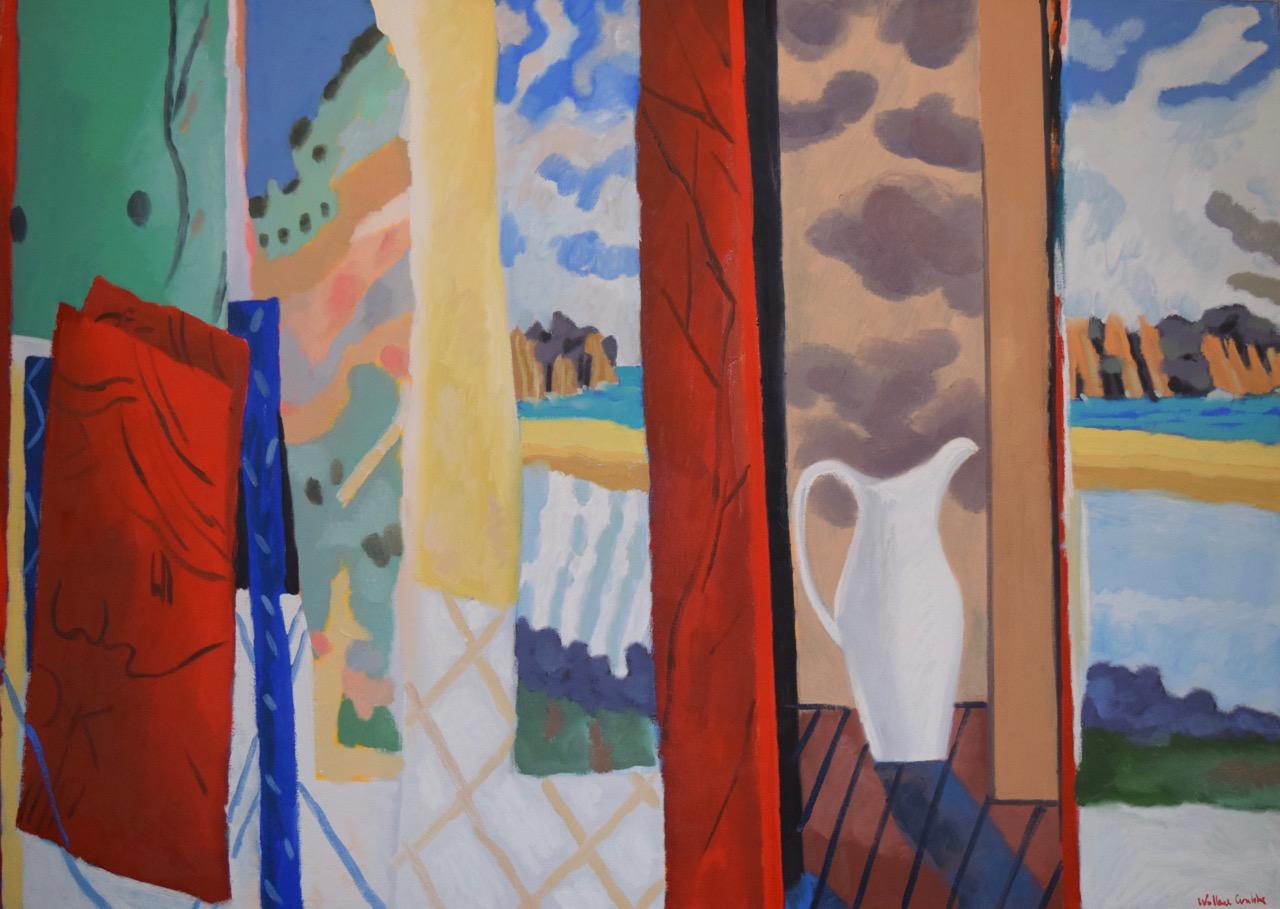 South coast silence , oil paint on canvas, 1994