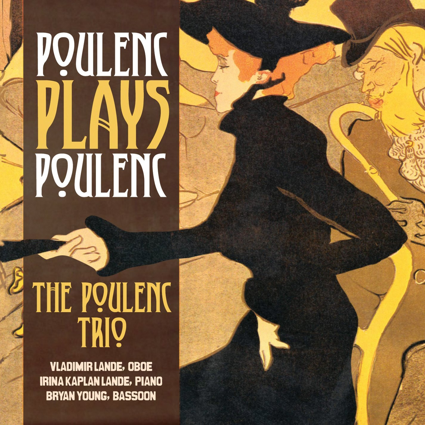 Cover Artwork: from  Divan Japonais  (1893)by Toulouse Lautrec; Package Designer: Bryan Young