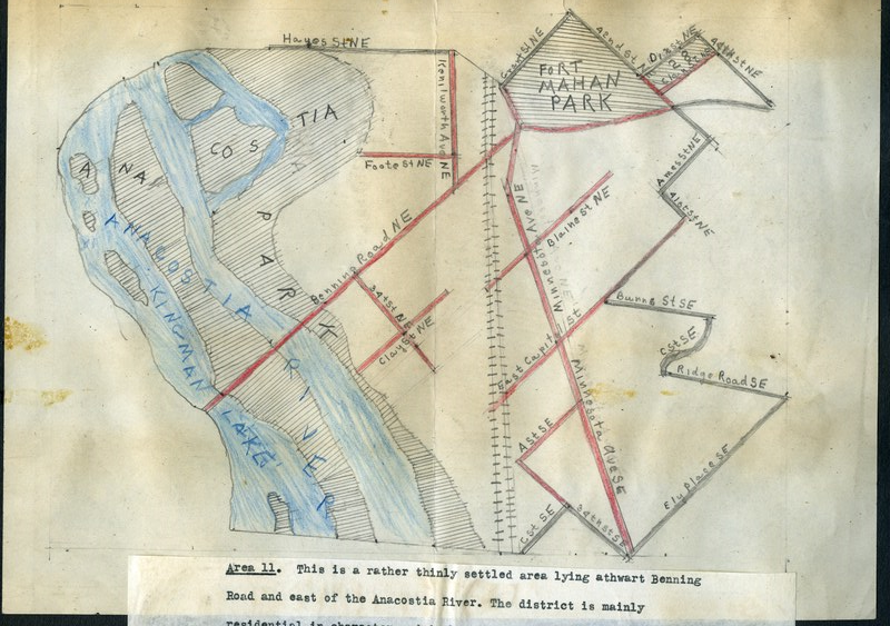 Maps and Area Descriptions — Wymer's DC