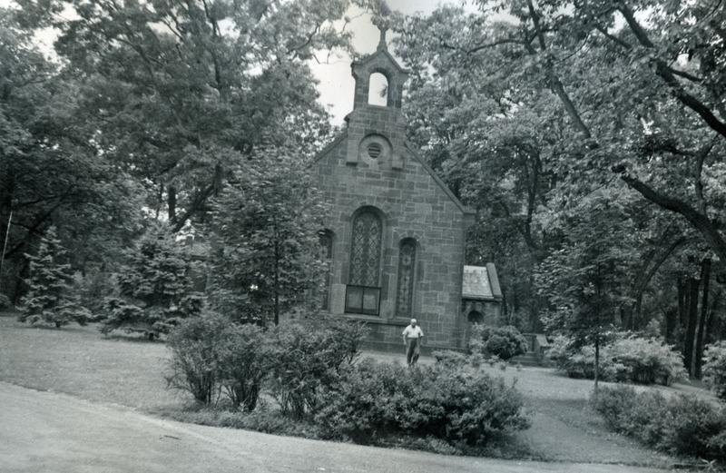 Chapel, U.S. Soldiers Home, ca 1948