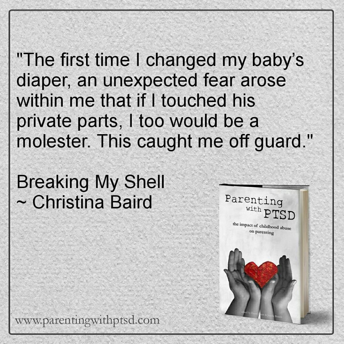 - Becoming a parent can give rise to unexpected feelings and thoughts for trauma survivors.
