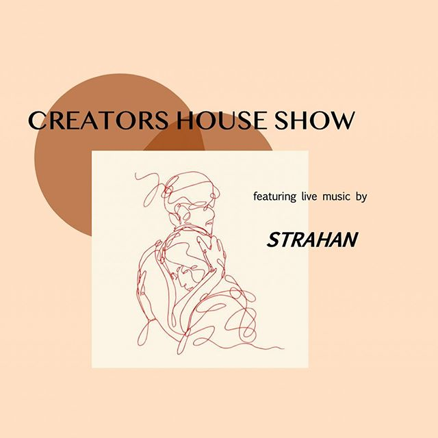 Tonight's the night! 🥳 Strahan is coming to Creators to serenade us with his sweet sweet melodies! We have 3 tickets left until we are packed out! No door sales tonight friends. Bring some coinage for a hot bevy & a sweet treat. Otherwise, see you all tonight from 7pm-late at Creators whare!! Wappow! 💥