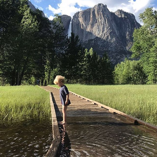 This week marks the 128th anniversary of when @yosemitenps became a national park! 🌲 🎉On October 1, 1890, Yosemite became the third national park in the United States. (Yellowstone was the first in the world! 🌎 And the second was the little-known Mackinac National Park in Northern Michigan that only held National Park status from 1875-1895) 🌲 We ❤️ @yosemitenps so much! It's an annual trip for my family (photo of my son near Yosemite Falls last year). We're so grateful to all who do their part to protect it! 🌲 HBD Yosemite! 🎂 Link in bio to my story about rafting through Yosemite Valley this summer! 🛶 💦  #yosemite #yosemitenationalpark #atotaltrip #radparks #findyourpark #travelwithkids ⛰🌲💛