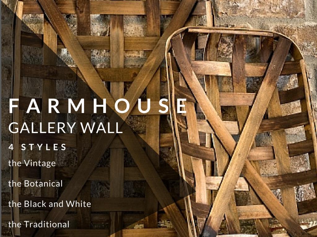 Farmhouse Style Gallery Wall Kit