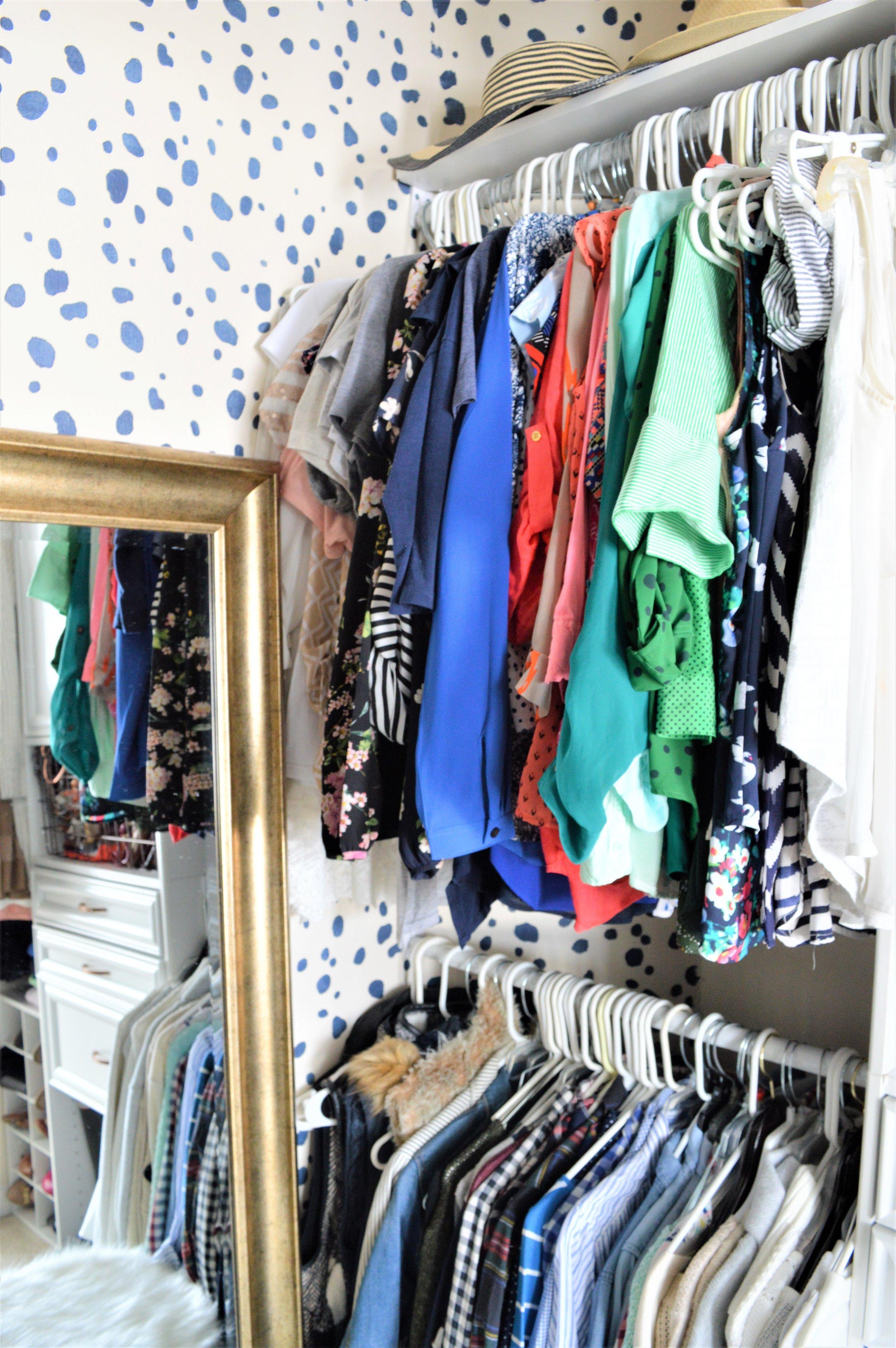 Master Closet DIY Makeover