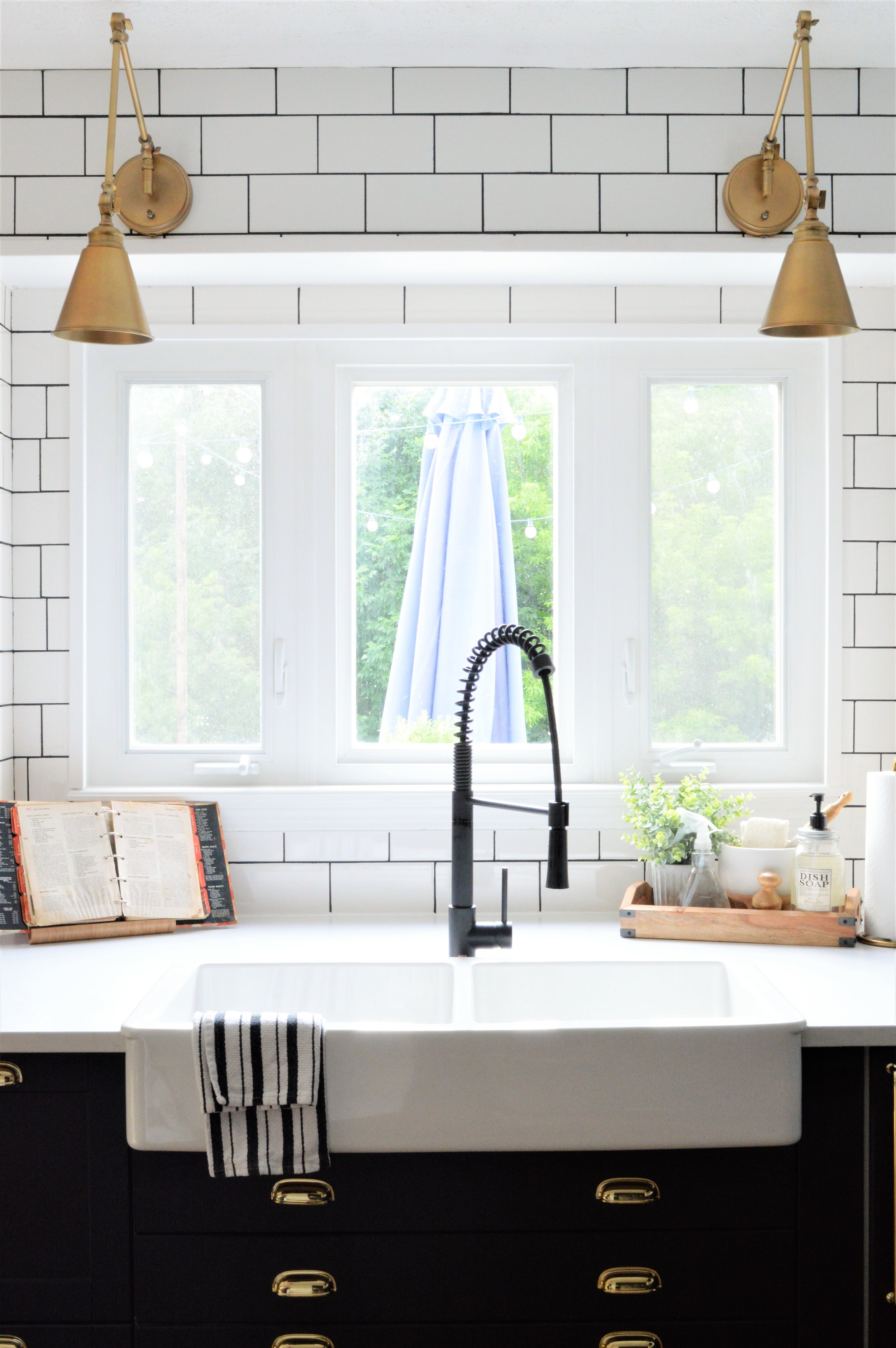 Kitchen Renovation Builder Grade To Custom Modern Farmhouse Design The Other Side Of Neutral