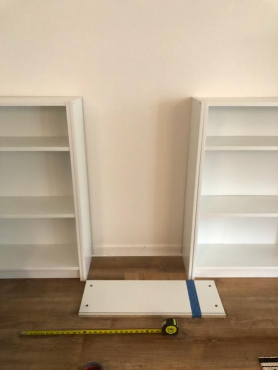 Ikea bookcase hack
