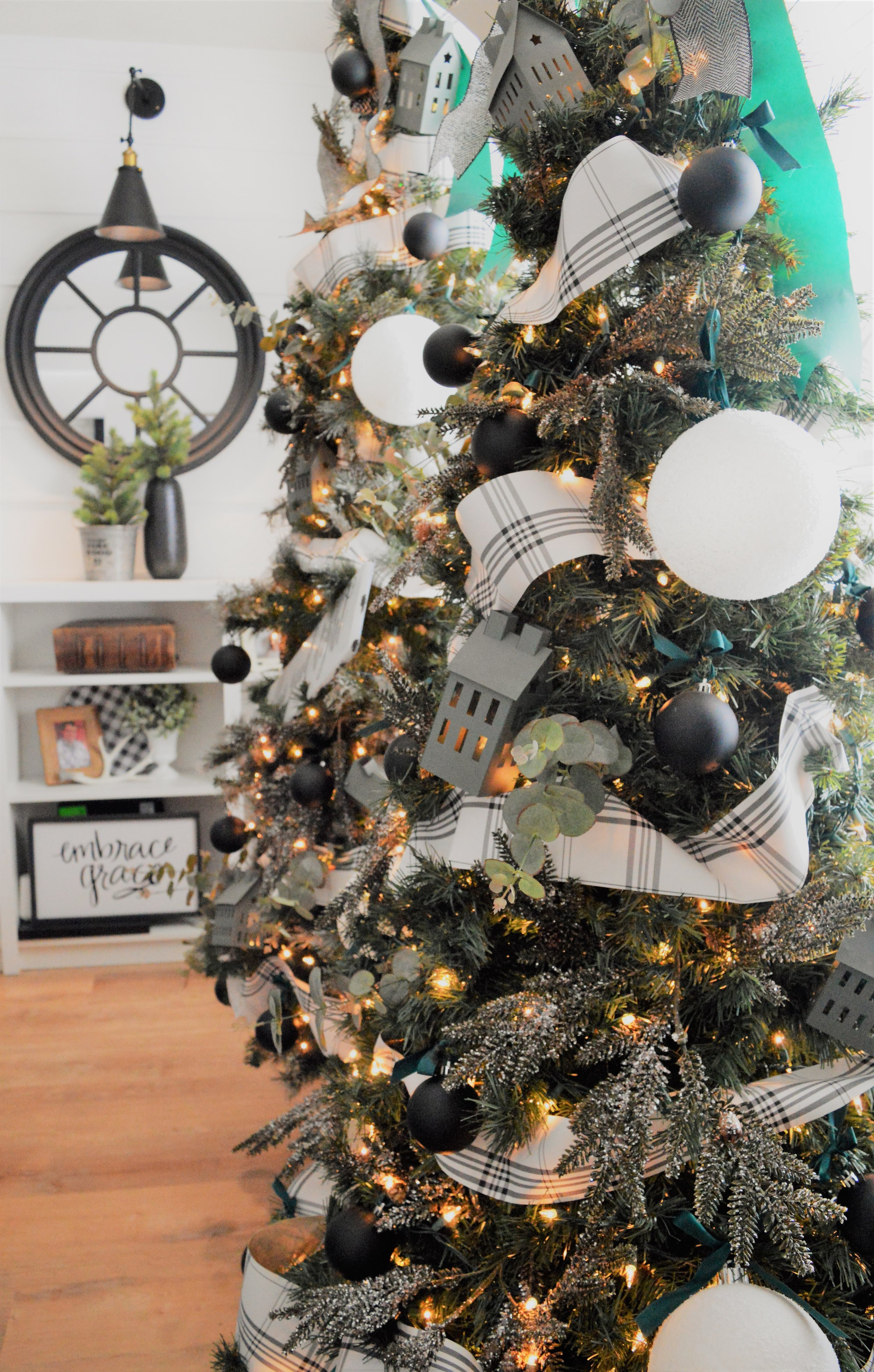 Christmas Living room Trees