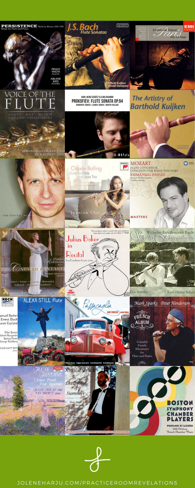 My Top 17 Inspirational Flute Recordings — Jolene Madewell