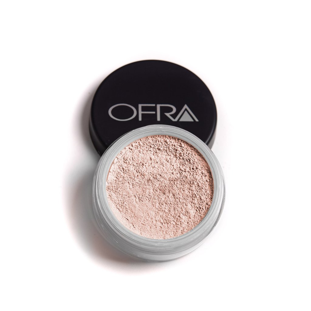 OFRA TRANSLUCENT POWDER - AVAILABLE IN SHADES OF DARK, LIGHT, MEDIUMSHEER AND LIGHT TEXTURE FACE POWDERUSED AS A LAST STEP AFTER FOUNDATIONRESULTS OF NATURAL LUMINOUS EVEN LOOKING SKINMADE OF EXTRA FINE CRUSHED MINERALS.