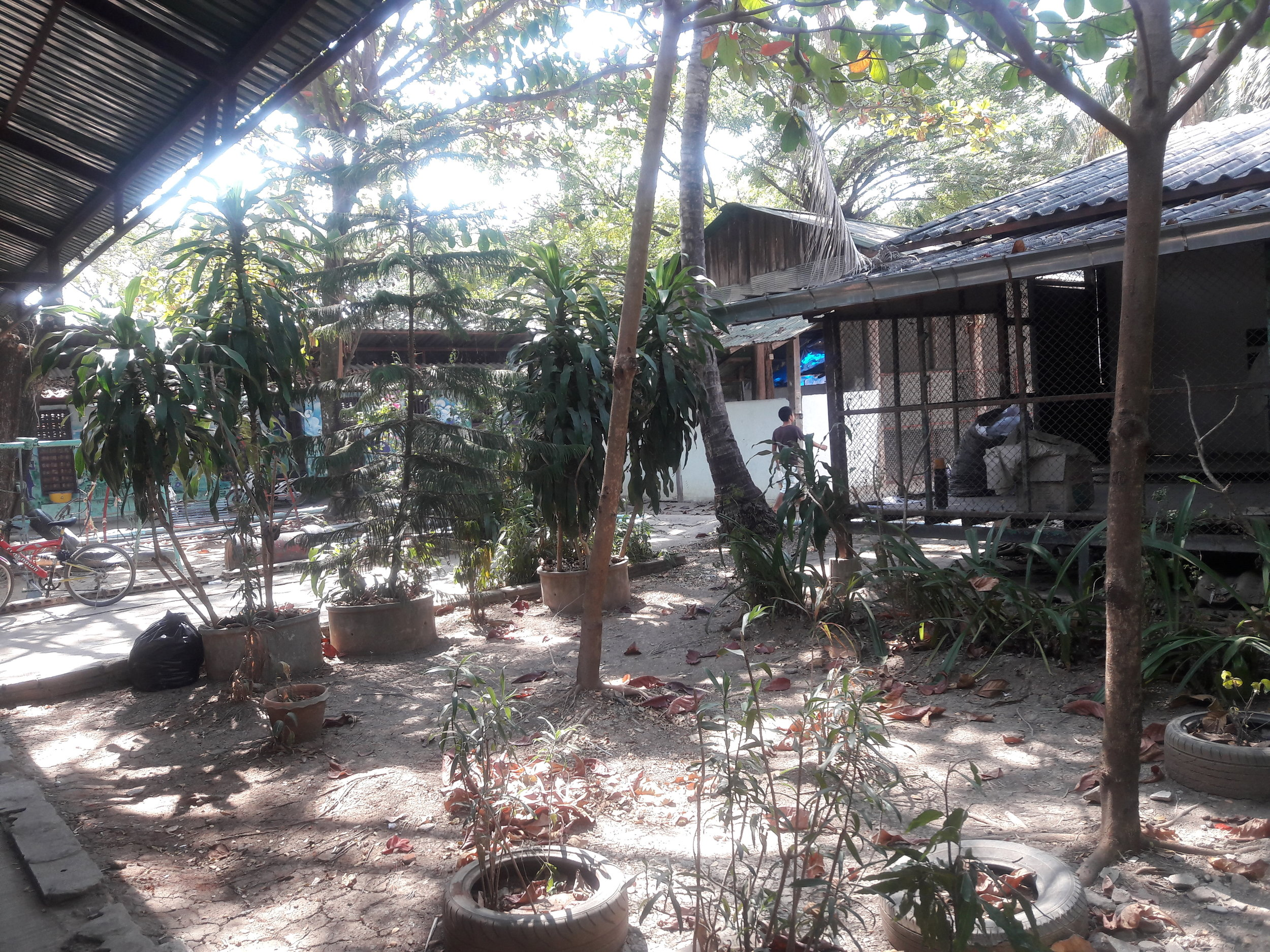 The compound where teachings for the TEMP team occurred.