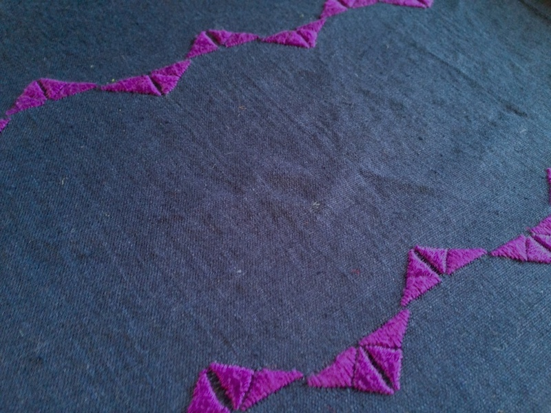 storai / hand embroidered linen