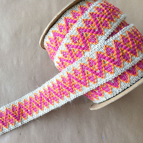 Chevron Wool Candy