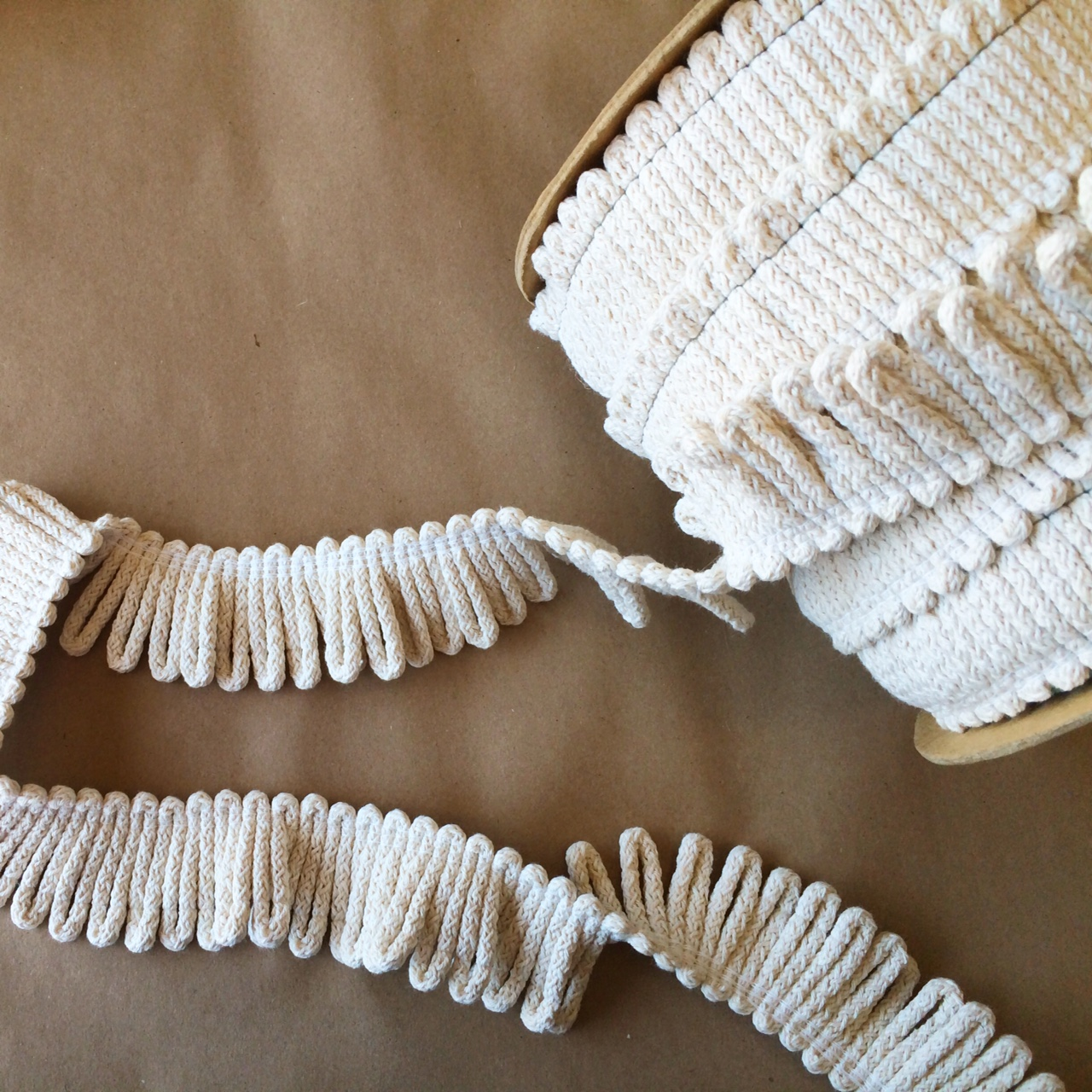 Anchor Loop Fringe Natural Cotton