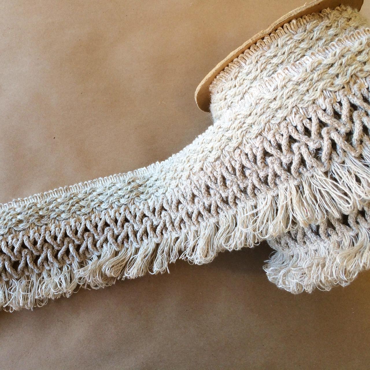 Bijoux Wide Tape Linen Melange - 100MM WIDE