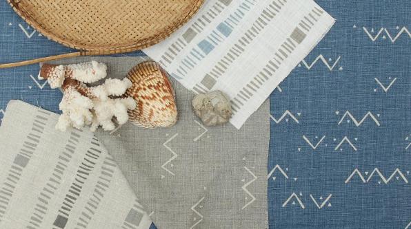 Kivu & Loxo Fabric - Coastal Inspiration