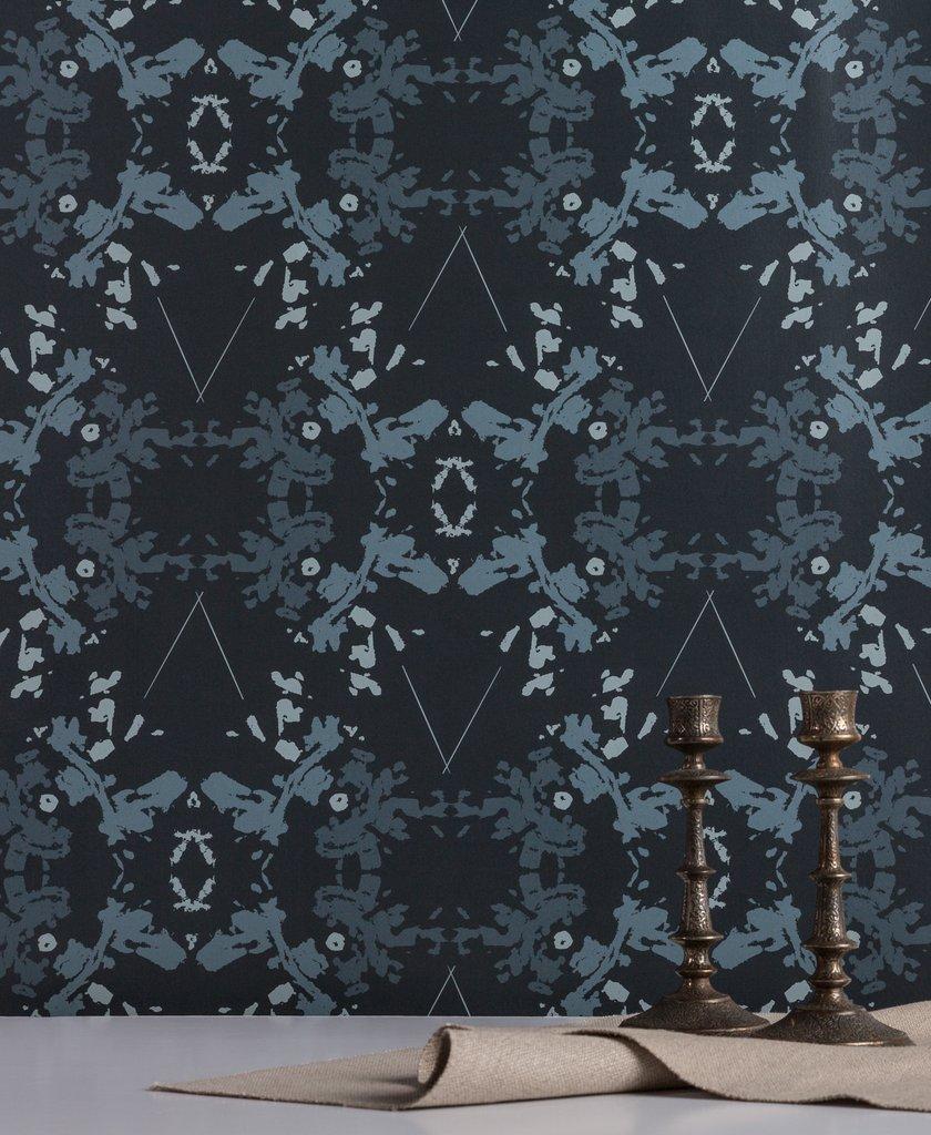 Blackish Magic Indigo wallpaper