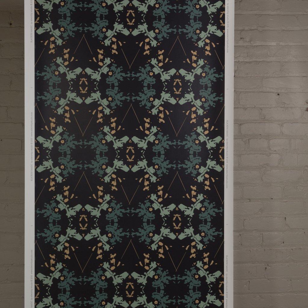 Blackish Magic Graphite wallpaper