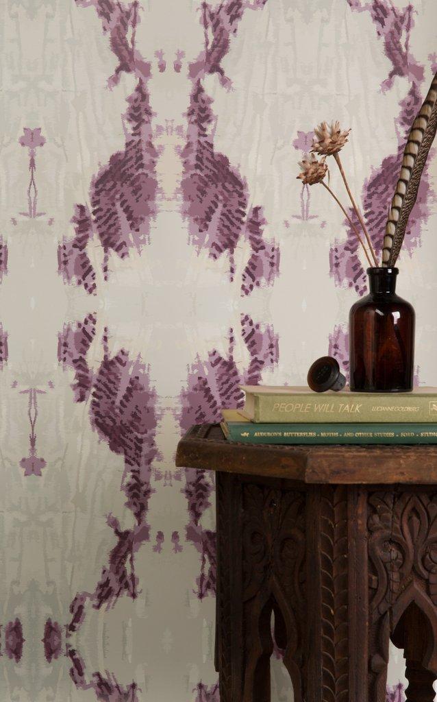Cascade Mauve wallpaper