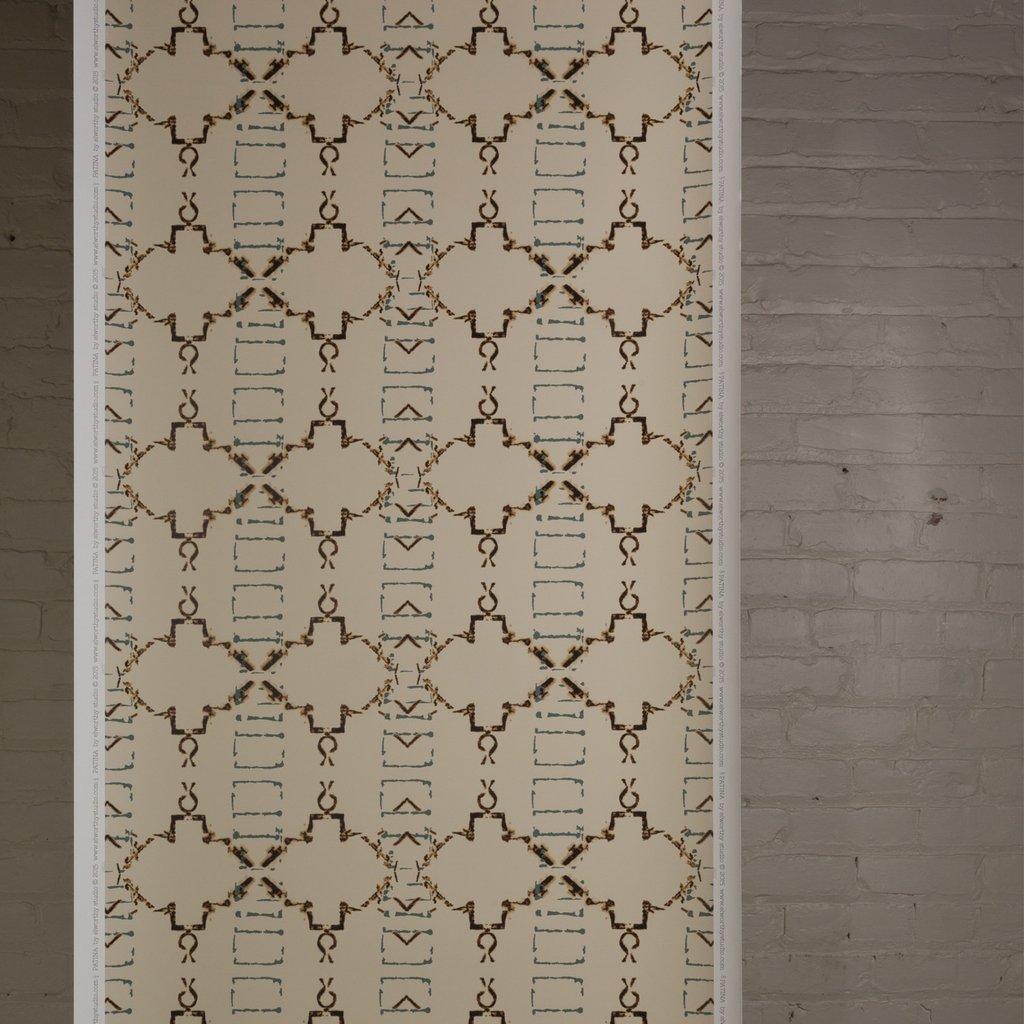 Patina wallpaper