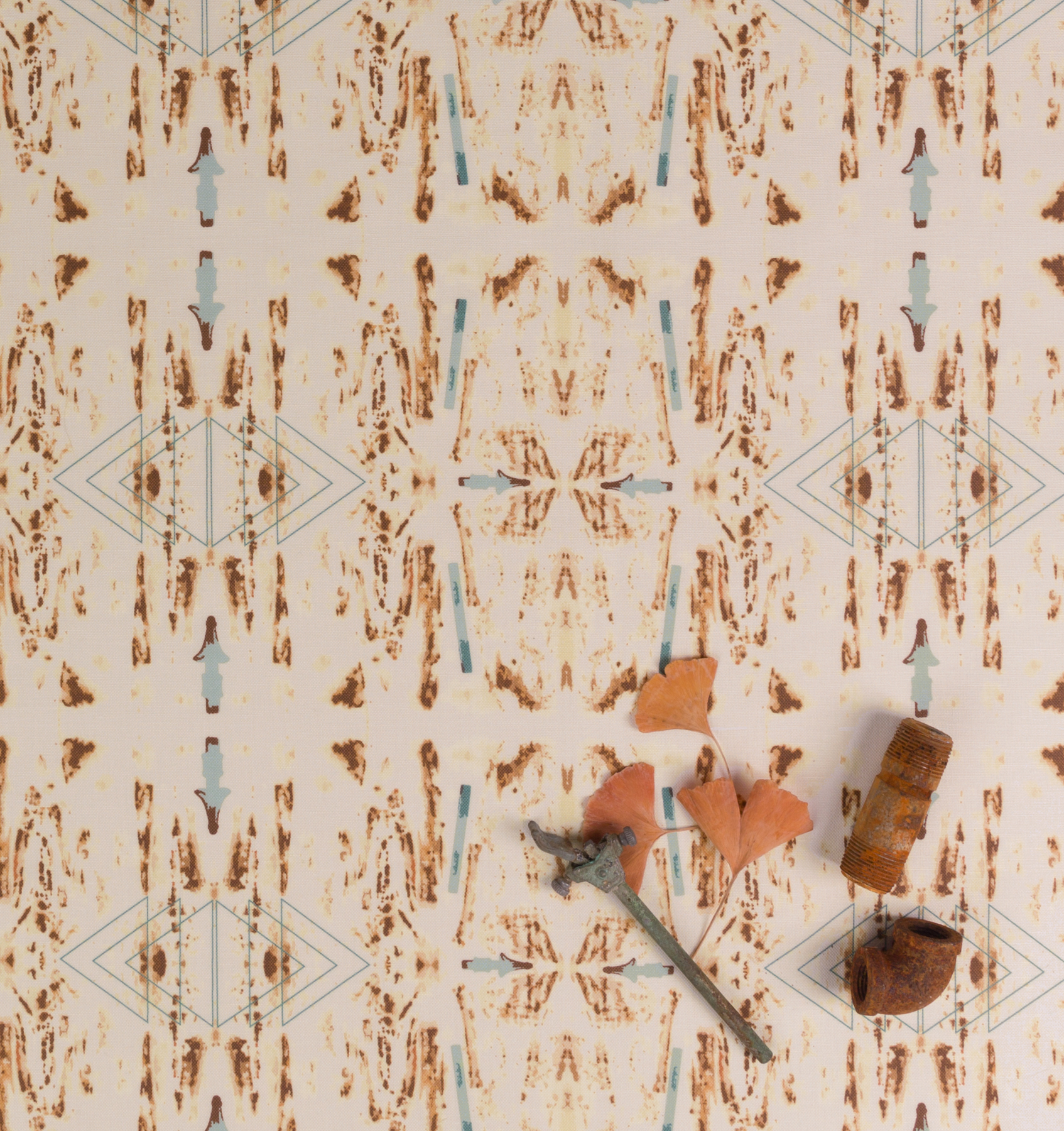 Sepia fabric