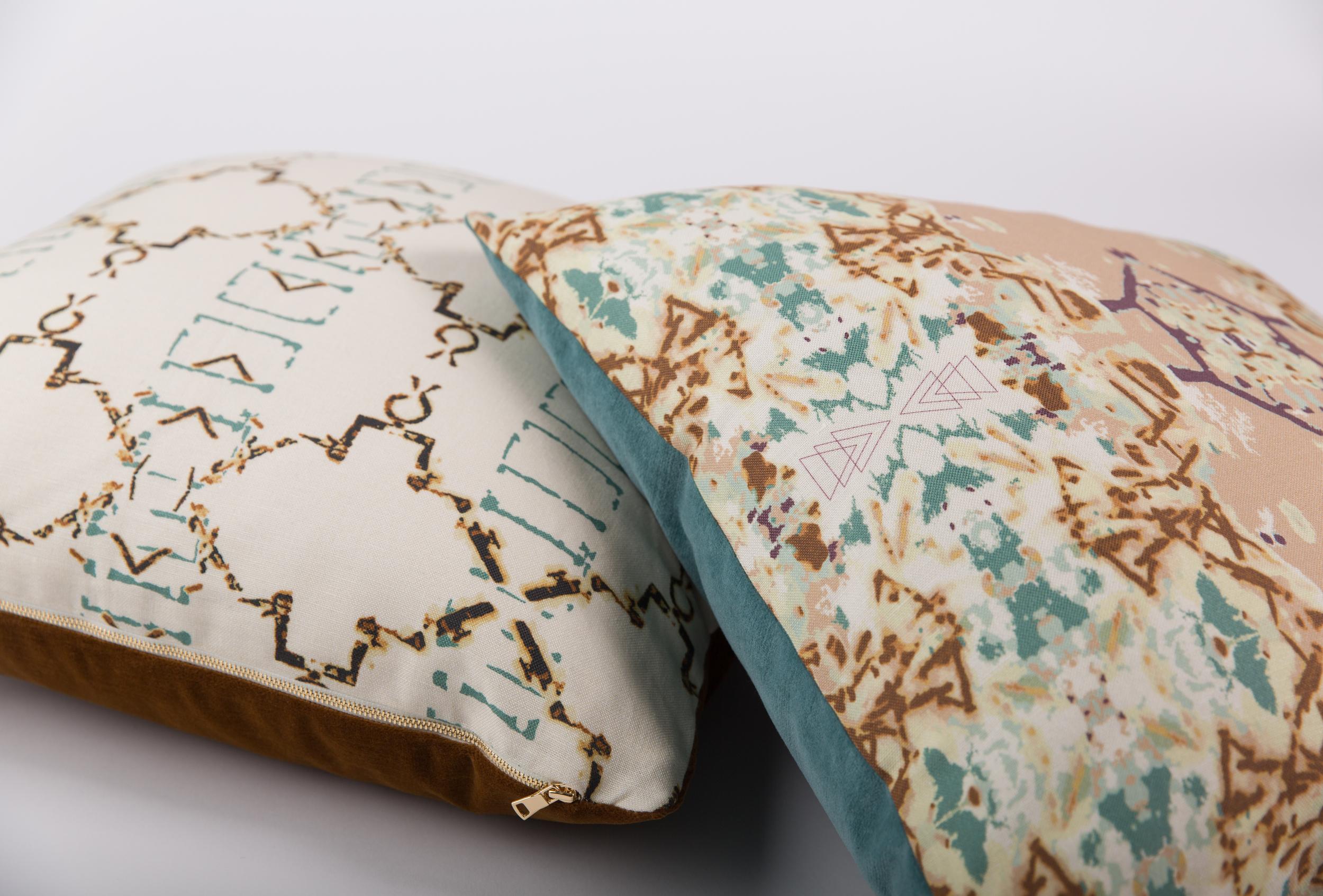 Patina & Desert Alchemy Cushions