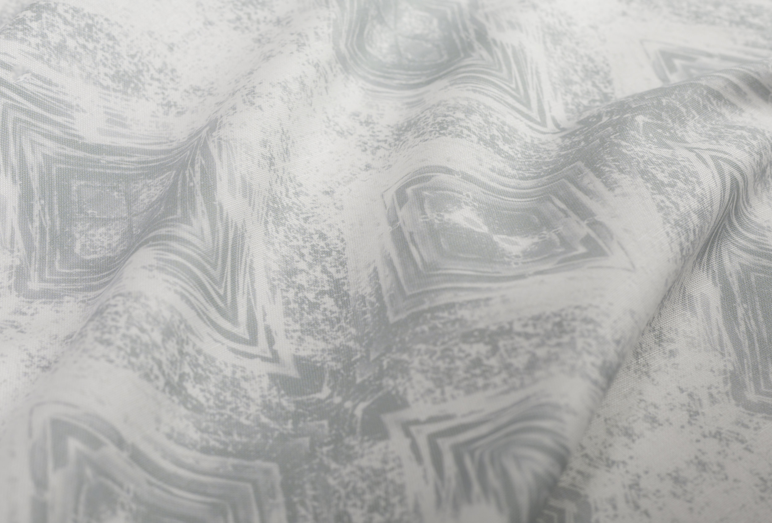 Aurora Silver Fabric