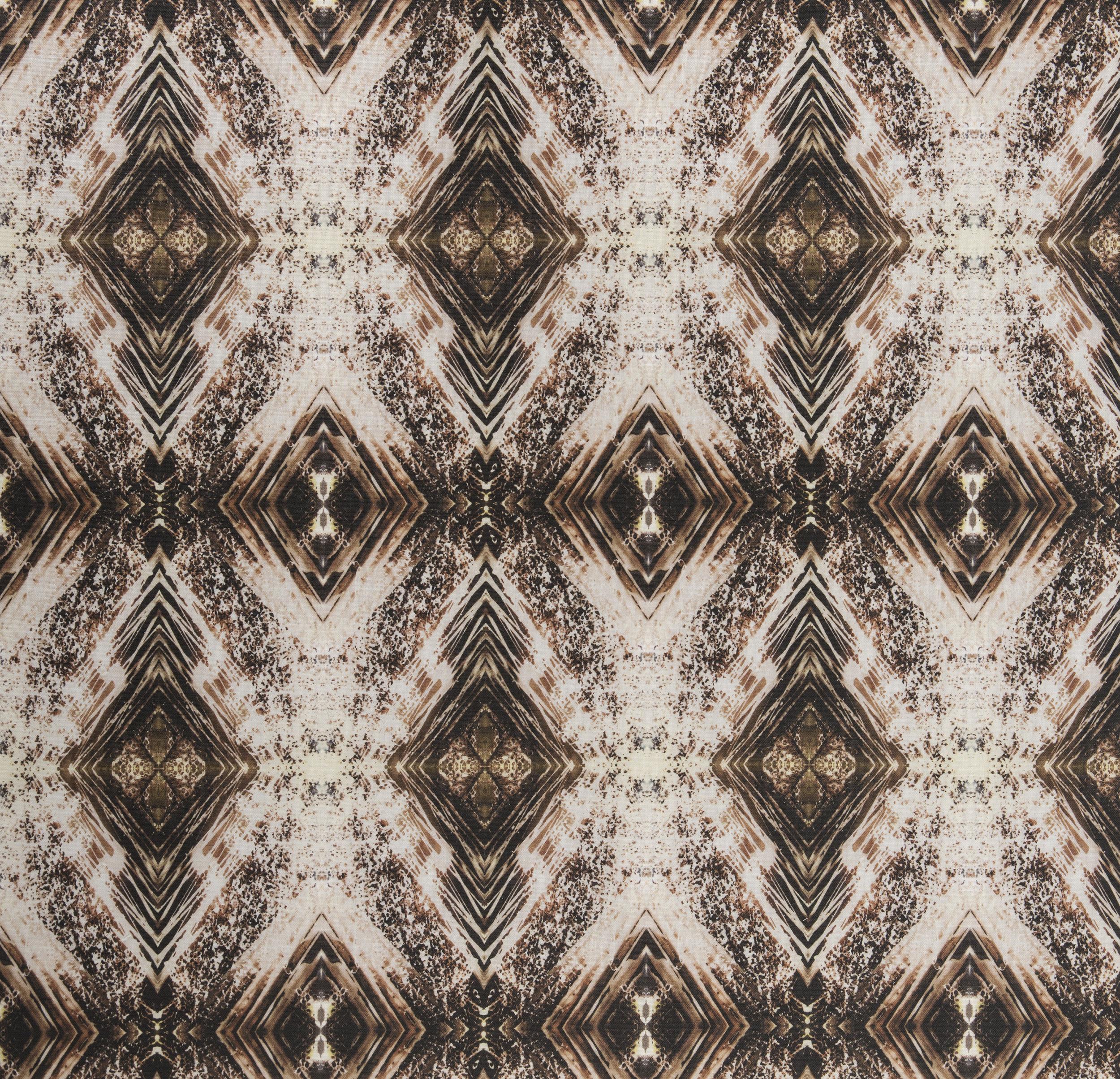Aurora Bronze Fabric Repeat