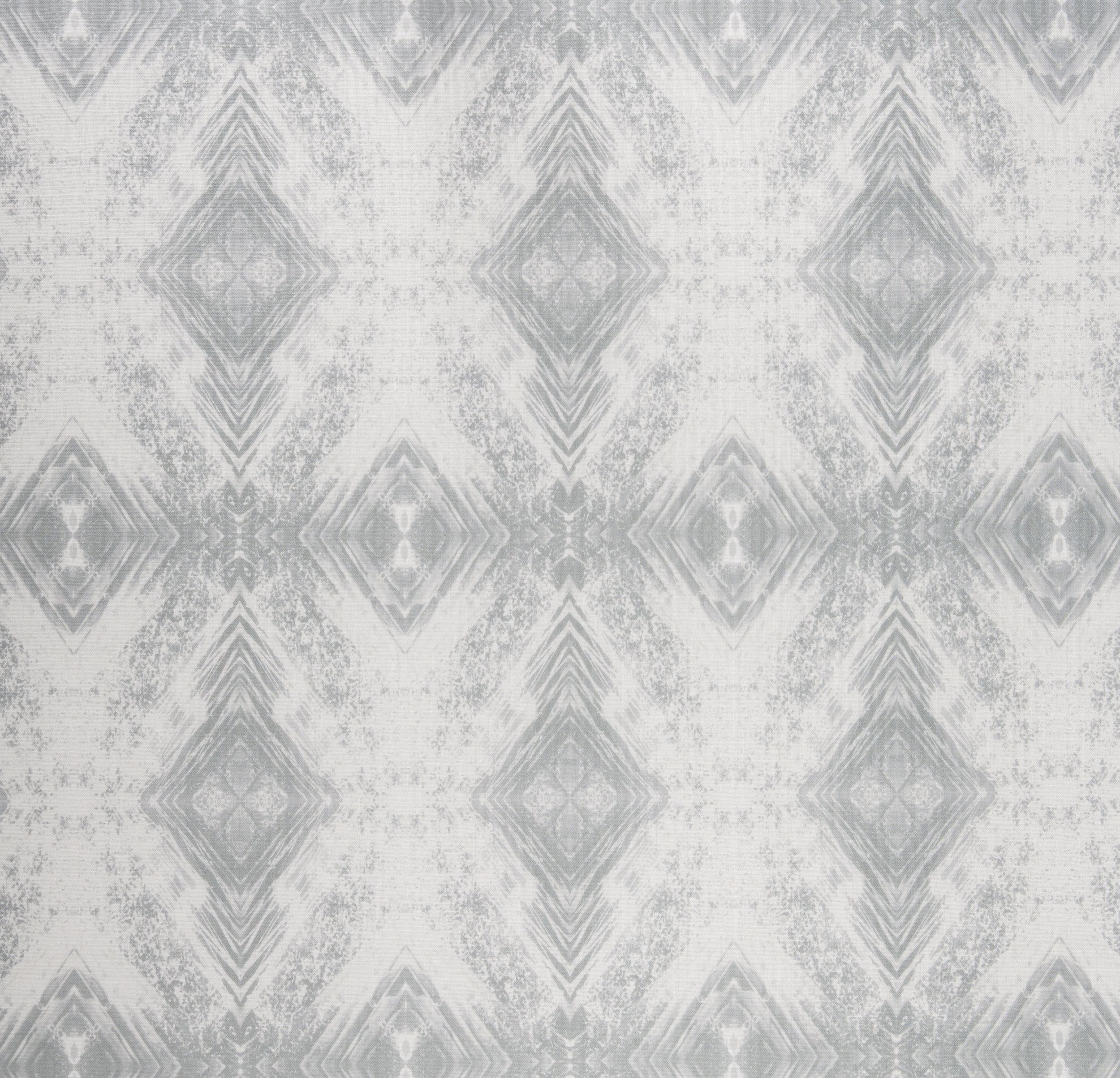 Aurora Silver Fabric Repeat