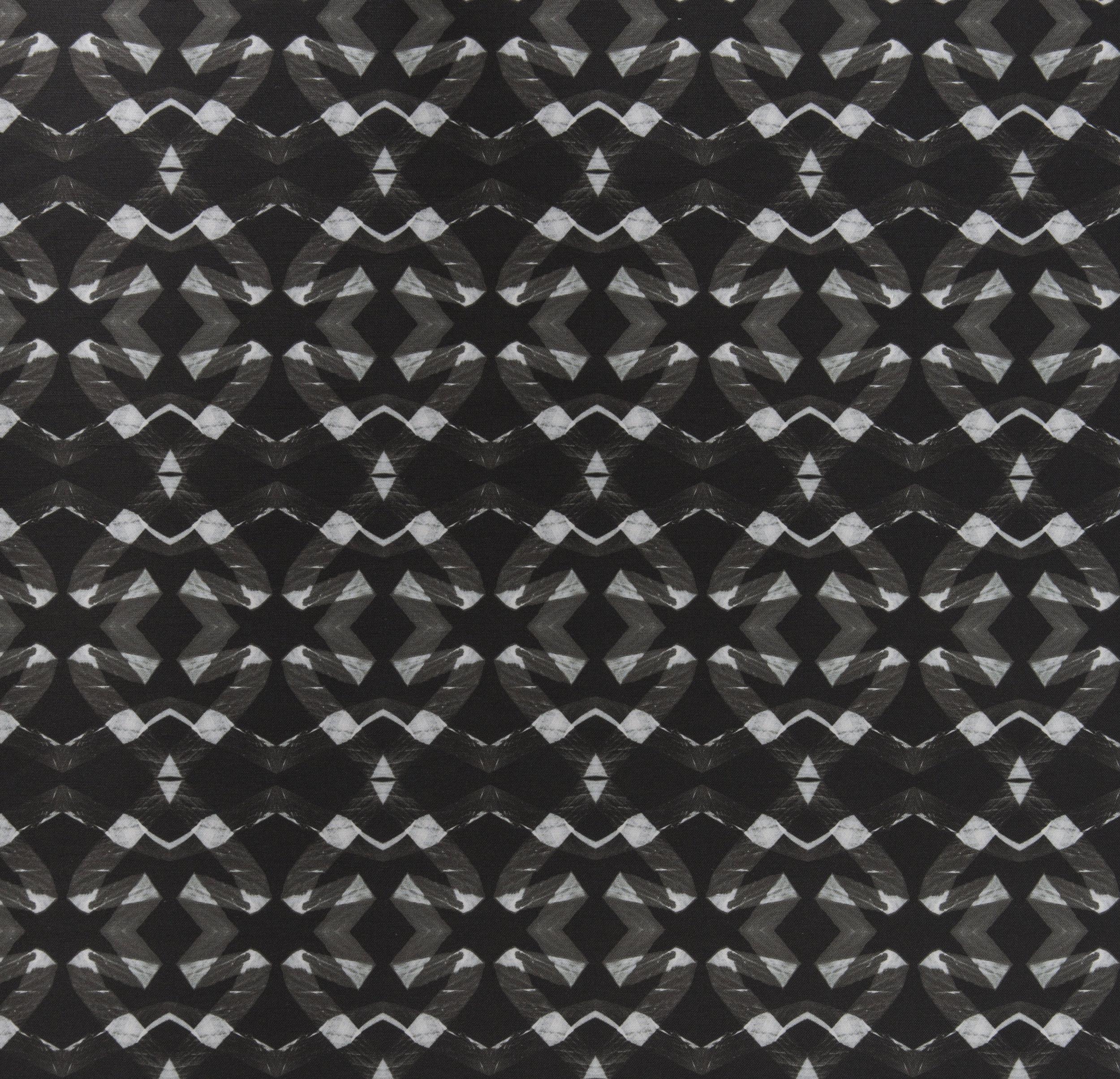 Lucina Black Fabric Repeat