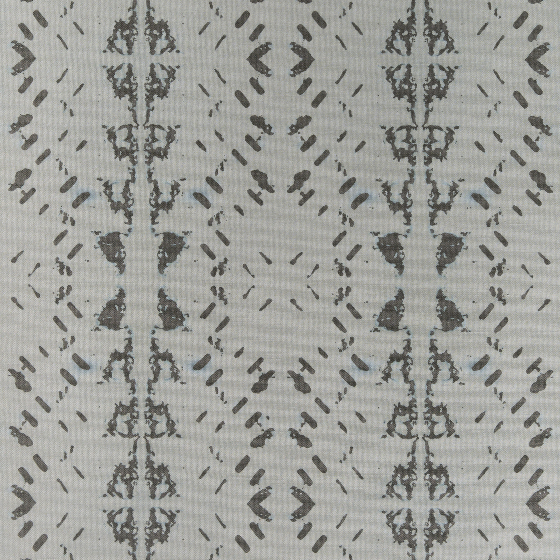 Native Embers Silver Fabric Repeat