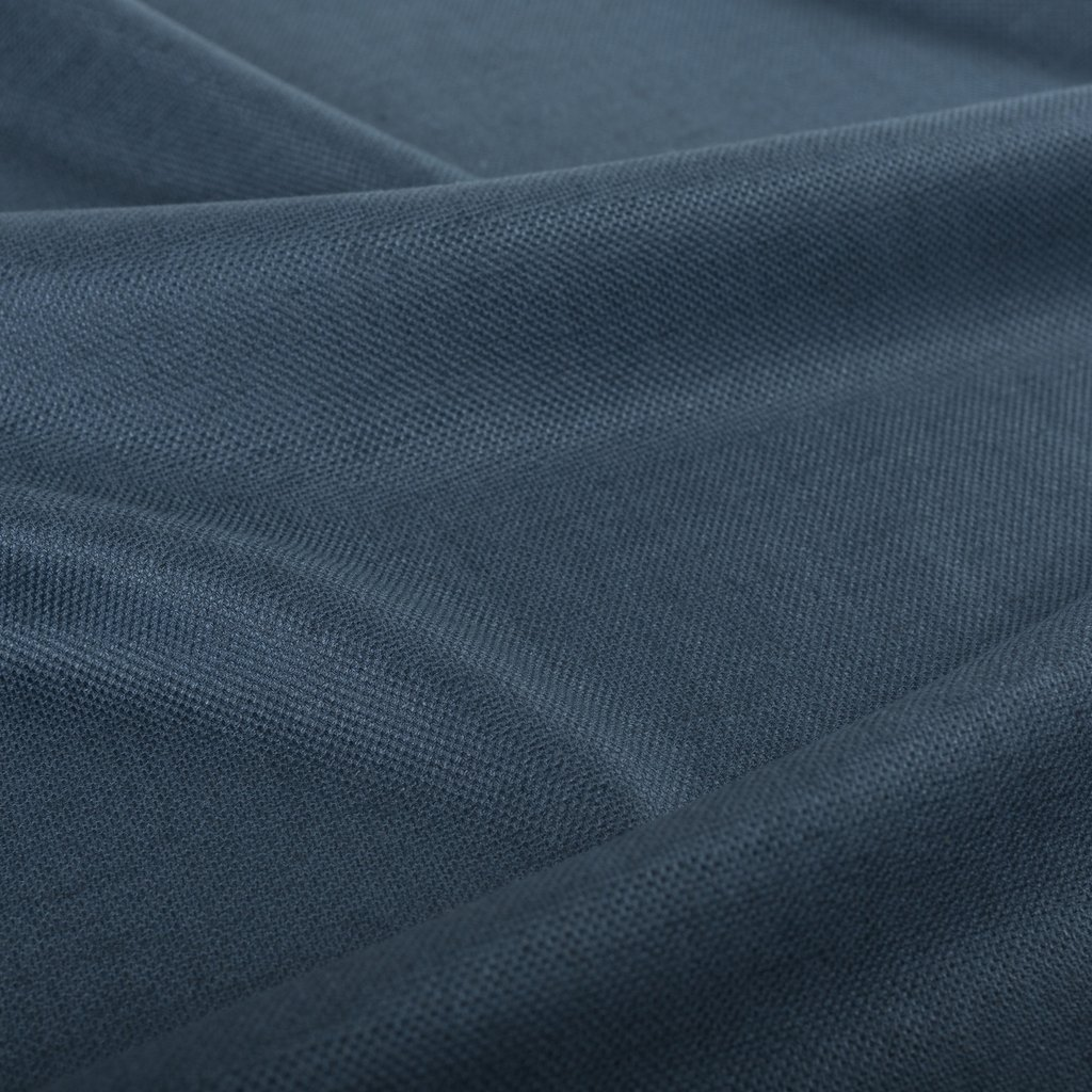 Teal Eco-Linen Fabric