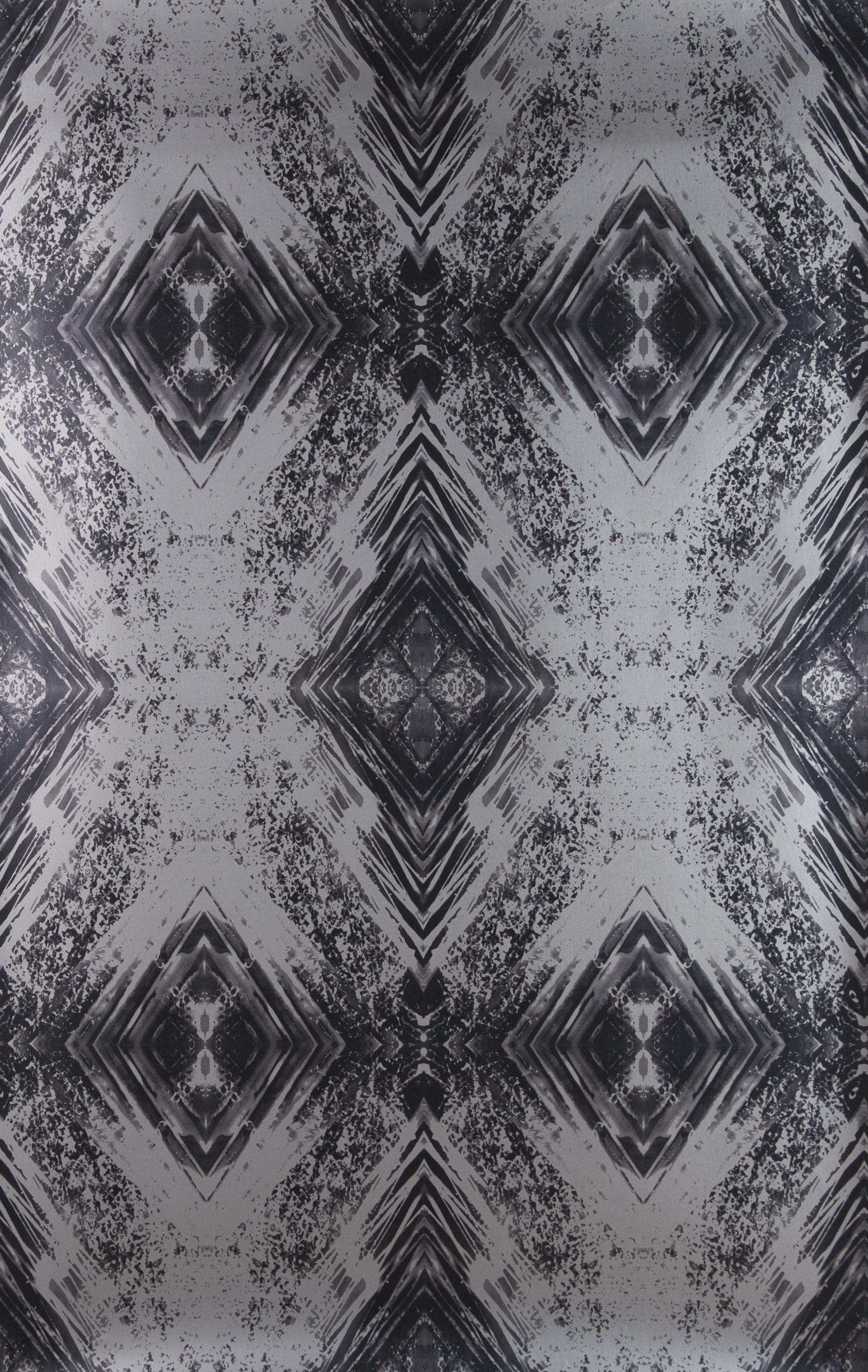Aurora Silver Wallpaper Repeat