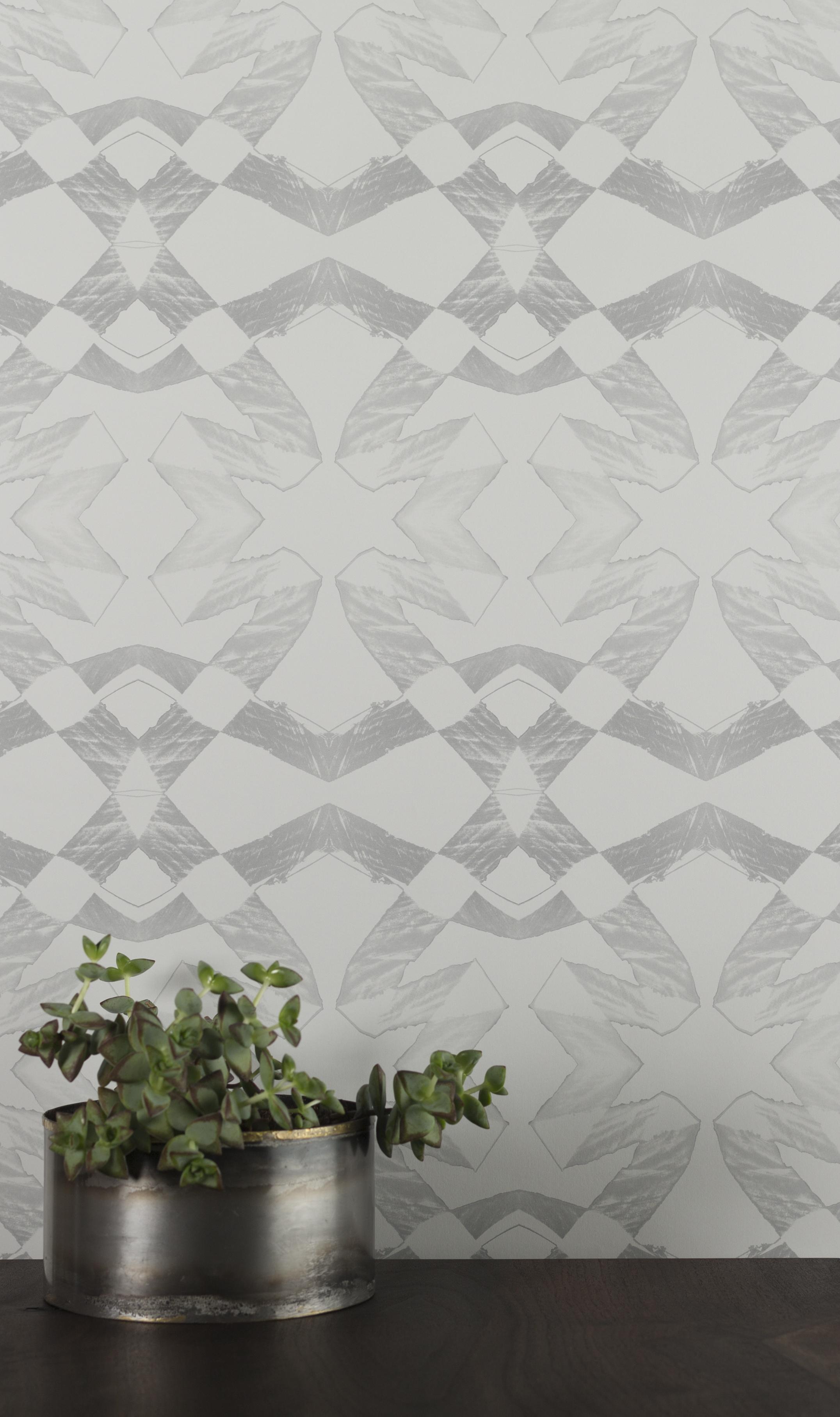 Lucina Silver Wallpaper