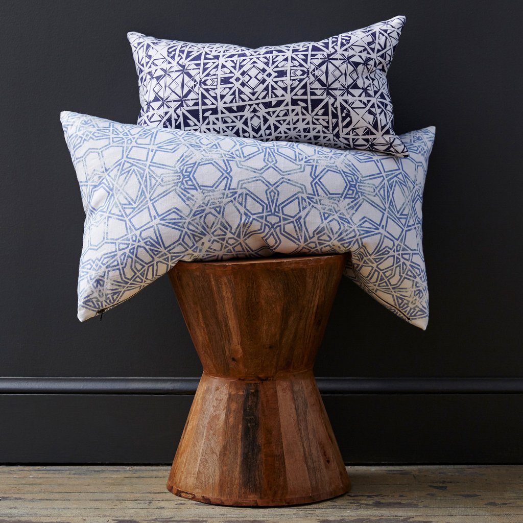 Savannah Hayes Pillows in Antwerp & Bucharest