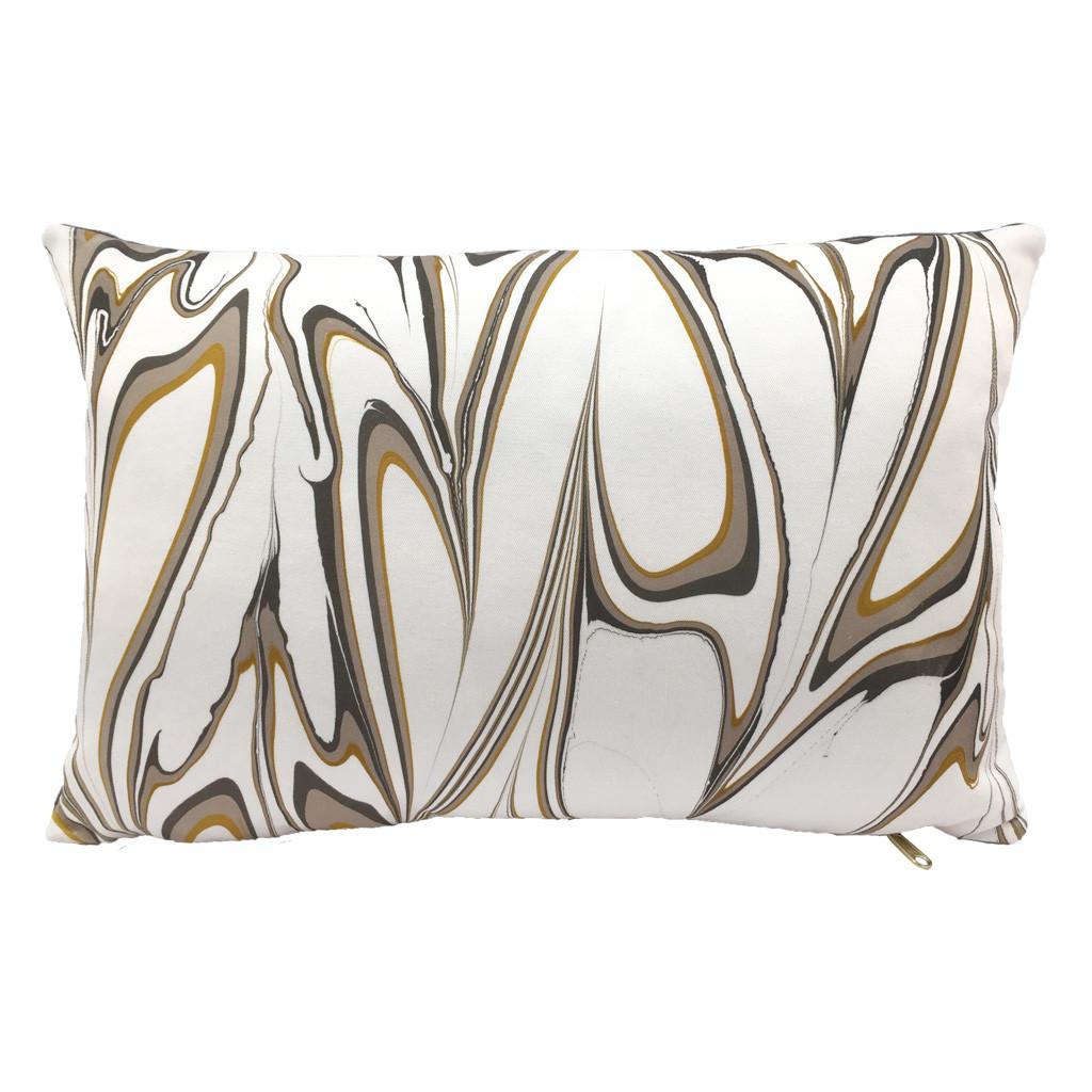 Marbled Pillow Ochre Lumbar