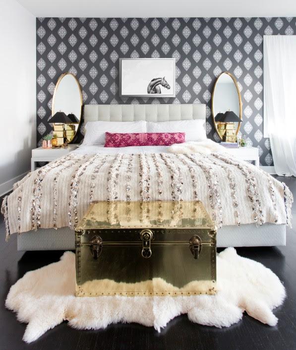 Boteh Silver Bedroom