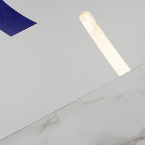 Offset - Navy+Gold detail