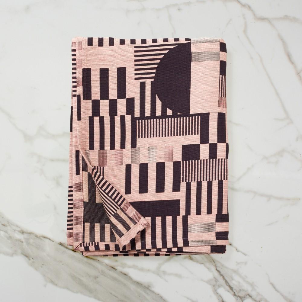 Hayward Woven Bed Blanket - Aubergine