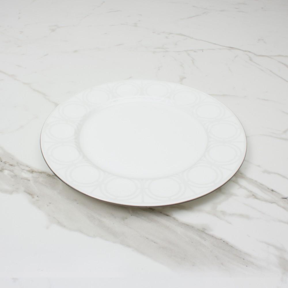 Palladian Side Plate - Brooklyn White