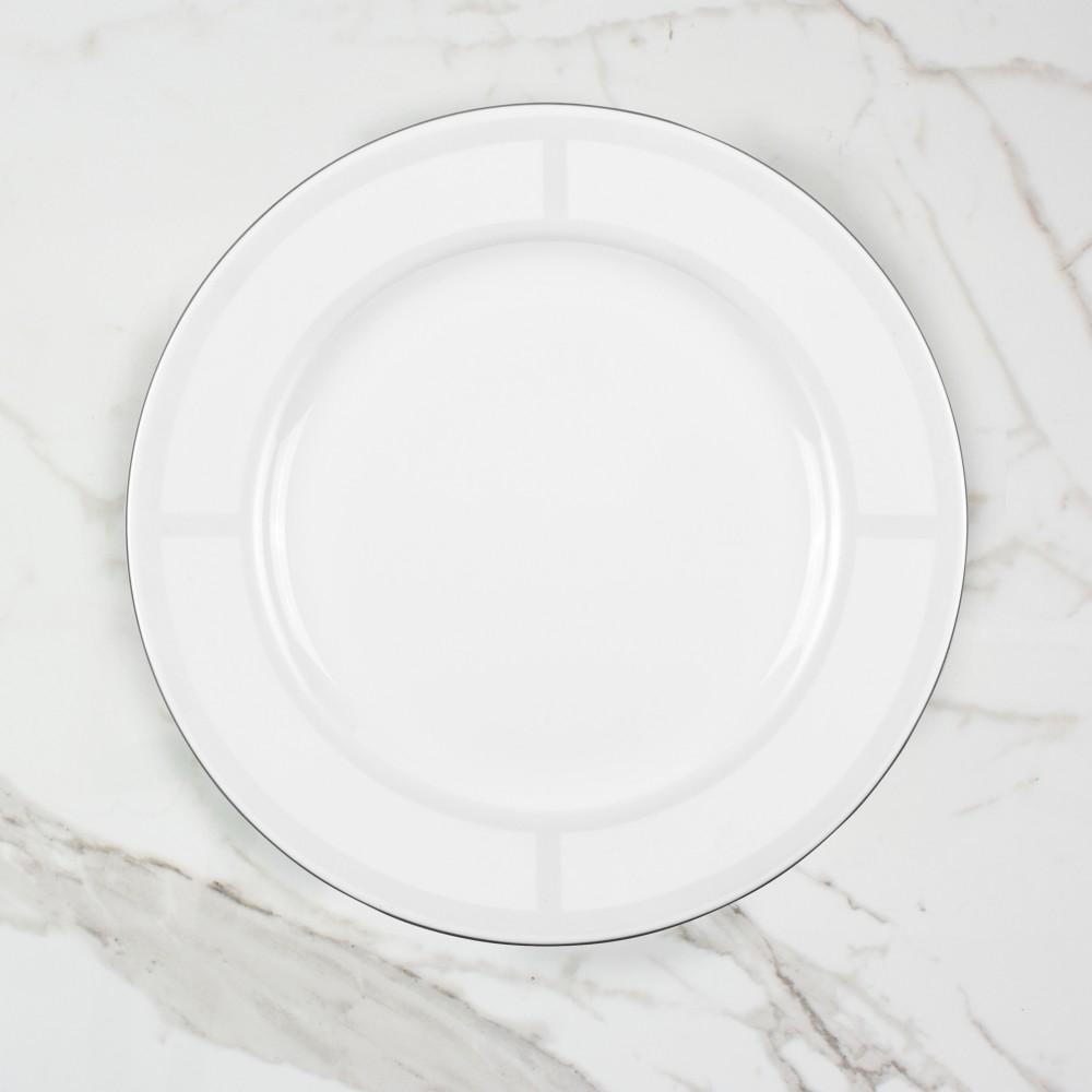 Palladian Dinner Plate - Brooklyn White