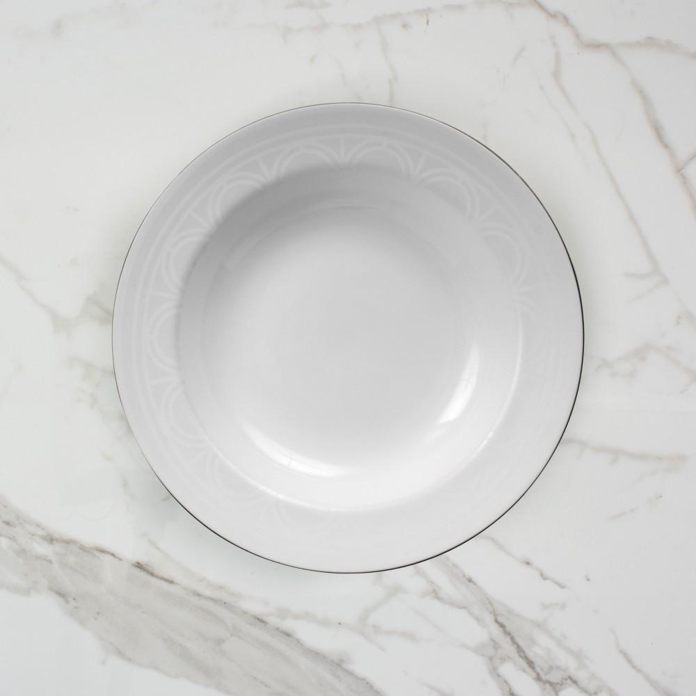 Palladian Soup Bowl - Brooklyn White
