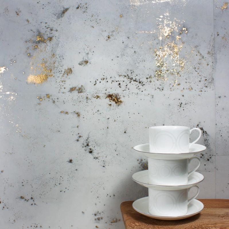 Palladian Tea Cup+Saucer Brooklyn White