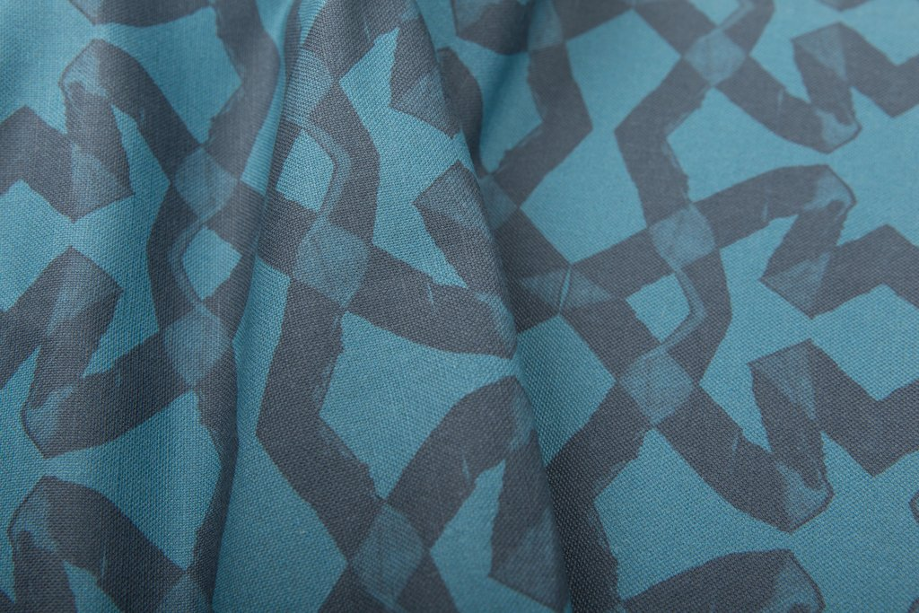 Lucina Petrol Fabric