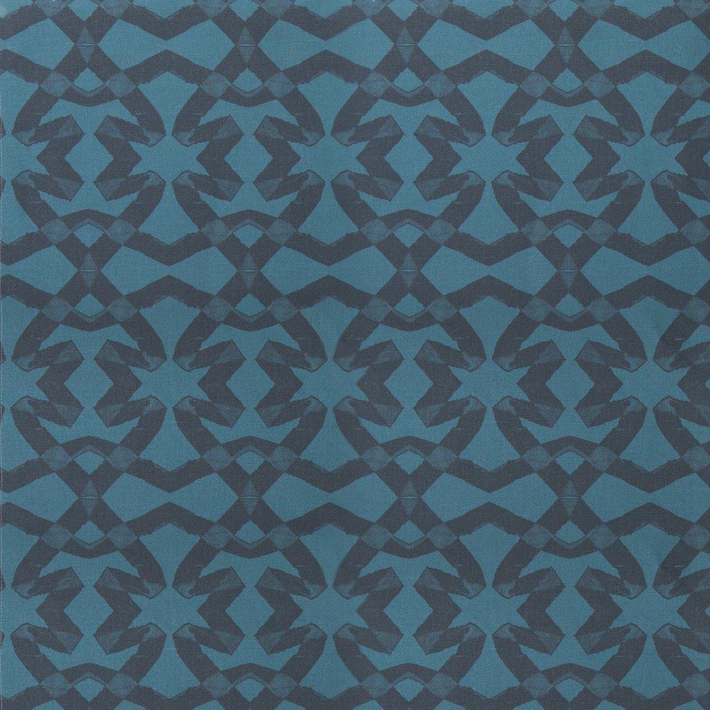 Lucina Petrol Fabric Repeat