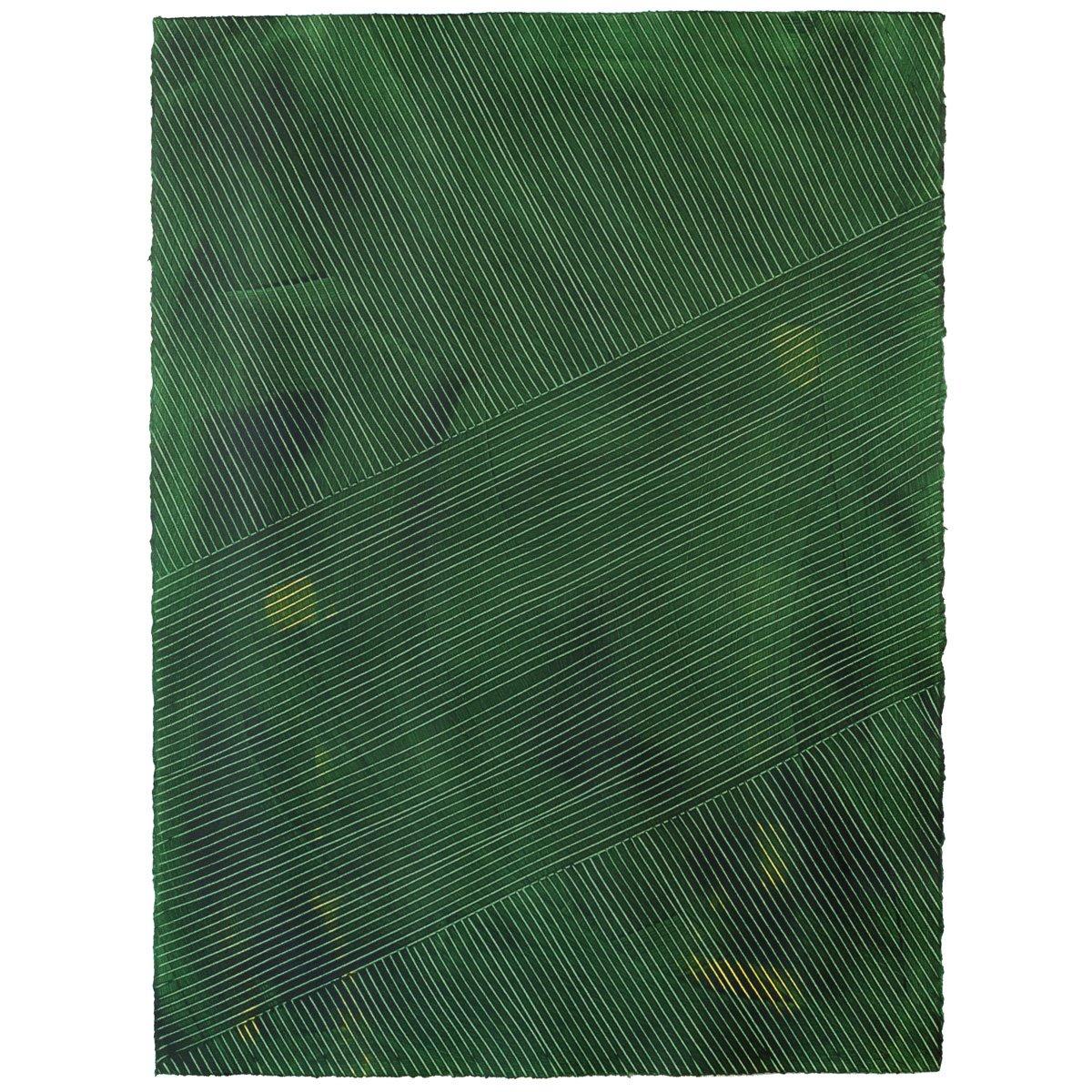 Lanai - Jungle - Hand-Painted Sheet Wallpaper