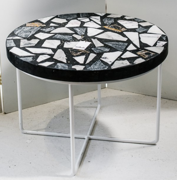 Alpha 01 Terrazzo Side Table Large